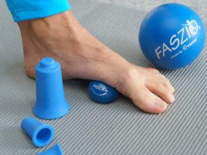 FASZIO® Fortbildung Faszientuning mit Bällen, Cupps und Flossband